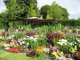 Small Picture Wonderful Backyard Flower Garden Designs With Flower Garden