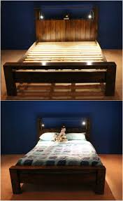 diy bed frame ideas 1 fabulous simple wooden