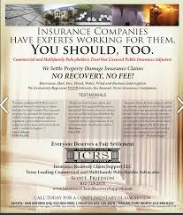 Future insurers will look at your claims history when determining your rates. Check Out The Icrs Ad And Article What Insurance Claim Recovery Support Llc Facebook