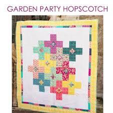 Garden Party Hopscotch Quilt Pattern &  Adamdwight.com
