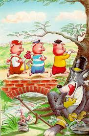 once upon a time there was a mother pig who had three little pigs
