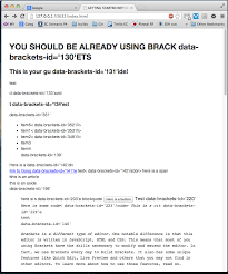 LiveHTML] data-brackets-id code shows up in Chrome · Issue #4730 ...