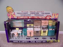 Barbie Kitchen Furniture Rare 1960s Deluxe Reading Barbie Dream Kitchen Store Display 1