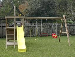 wooden garden play set macaque wooden swing set childrens garden