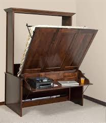 queen murphy bed with desk horizontal queen murphy bed with desk