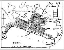 colonial town plans of perth wikipedia House Extension Plans Perth the 1833 town plan of perth, showing the orientation of the town lots north of the square house extension designs perth