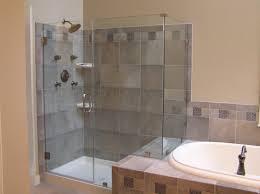 bathroom showers stalls. Bathroom Design Ideas Using Cream Light Gray Limestone Tile Shower Wall Panel Including Corner Showers Stalls T