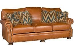 King Hickory Living Room Easton Leather Sofa 1600 L