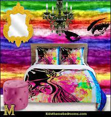 funky cool teen girls bedding