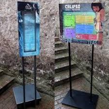Menu Display Stands Restaurant Crystallite Display Stand Foody Menu Pinterest 45