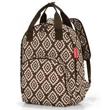 <b>Рюкзак reisenthel</b>, <b>Easyfitbag</b> diamonds, коричневый — купить в ...