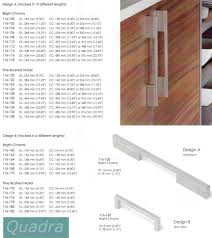 Long Cabinet Pulls siro quadra long cabinet drawer pulls eclecticware 7543 by xevi.us