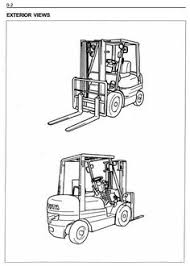 toyota fgu fgcu fgcu fgcu fgcu original illustrated factory workshop service manual for toyota lpg forklift truck south africa
