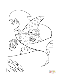 The Fishing Net Coloring Page   Free Printable Coloring Pages ...
