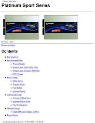 haltech platinum sport manual by mike roberts issuu page 1