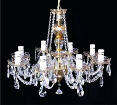beautiful antique glass chandelier best bohemian crystal images on for stained frightening bohemian crystal chandelier