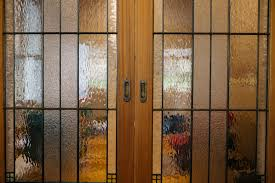 interior stained glass doors