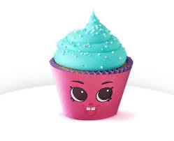 1 12 Pink Cupcake Chic Cupcake Wrapper Shopkins Etsy