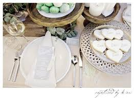 place setting from a rustic outdoor bridal shower via kara s party ideas karaspartyideas com