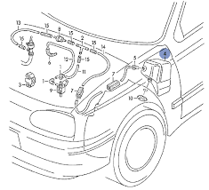 vwvortex com need obd1 vacuum diagram and some vac reservoir that sits behind the driver side fender