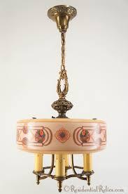 lightolier dinerlites chandelier circa 1930s
