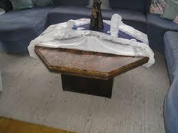 Polster Wohnlandschaft Mit Sessel Und Tisch