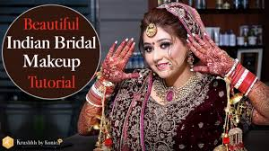 indian bridal makeup tutorial best indian bridal makeup videos tutorials krushhh by konica