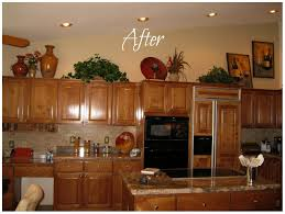 decorating ideas for kitchen. Ideas For Decorating Above Kitchen Cabinets