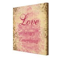Vintage Love Quote Canvas Print Zazzle Unique Love Quote Canvas
