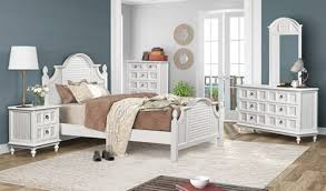 Key Largo Wicker Coastal Bedroom Furniture Collection