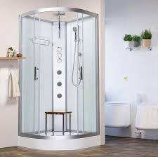 shower cubicles self contained. Vidalux Pure 900mm X White Quadrant Hydro Shower Cubicle Self- Contained Cabin Cubicles Self K