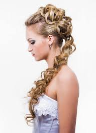 Prom Hairstyles Curly Updos Curly Wedding Prom Hairstyle For Long