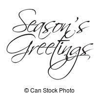 seasons greetings clip art black and white. Unique Art Seasons Greeting Type  Seasonu0027s Greetings Vector For To Clip Art Black And White R