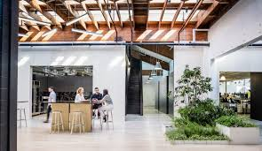 creative agency office. A Portland Warehouse Is Converted Into Hip HQ For Creative Agency - Azure Magazine Office