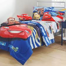 Lightning Mcqueen Bedroom Furniture Disney Cars Track Burn Twin Bedding Set Lighting Mcqueen