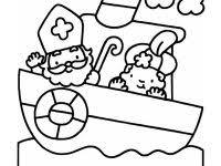 Kleurplaat Stoomboot Peuters Archidev Beste Sinterklaas Kleurplaat
