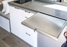 Frigo Design Metal Countertop Custom Stainless Steel Countertops Frigo Design