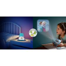 Frozen Night Light Projector Philips Disney Frozen Childrens Led Night Light Projector Portable Battery