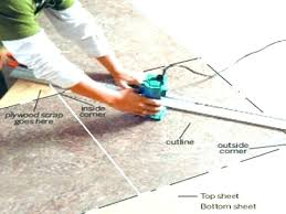 cutting laminate countertop how to cut a install recent sheet