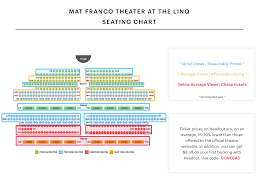 Hard Rock Hotel Las Vegas Concert Seating Chart Mat Franco Seating Chart Find The Best Seats At The Best