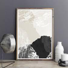 minimalist art print abstract art print fine art print large wall art print