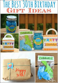 the best 30th birthday gift ideas including a list of 30 great ideas from playpartypin share your craft 30th birthday gifts birthday