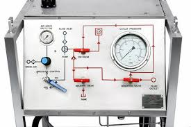 Water Pressure Chart Recorder Mild Steel Electric Chart Recorder Hydrotest Test Pump