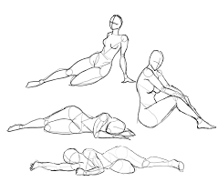 On The Floor Poses All Things Creative Human Drawing Human