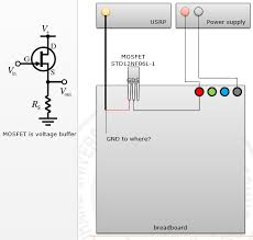 grounding should ground be shared between mosfet gate draing enter image description here