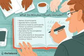 Minutes Of The Meeting Learn About Meeting Minutes And Why Theyre Important
