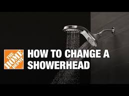 how to replace a showerhead installing a showerhead the home depot you