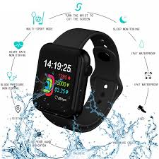 <b>V6 Smart Watch</b> Color Screen Smart Bracelet Full Touch Incoming ...
