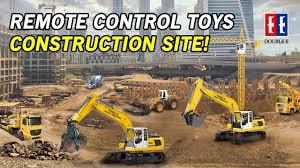 <b>Remote</b> Control Toys Construction Site! RC trucks, excavators ...