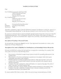 Astonishing Sample Cover Letter For Form I 751 30 In Director Of
